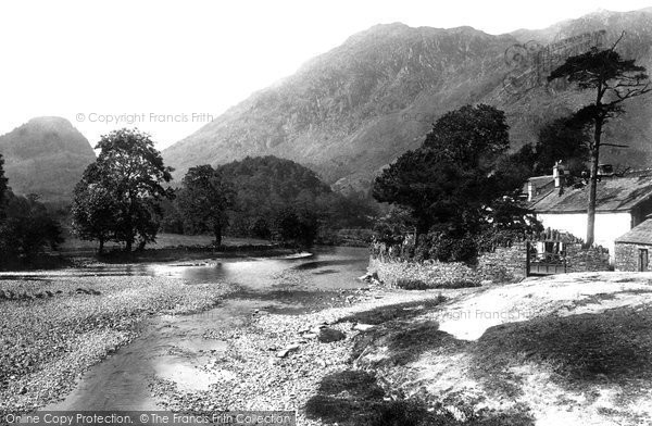 Borrowdale, Grange 1893.  (Neg. 32887)  � Copyright The Francis Frith Collection 2008. http://www.francisfrith.com