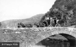 Carriage On The Bridge, Western Arch c.1900, Grange