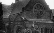 Grange-over-Sands, Congregational Church c1955
