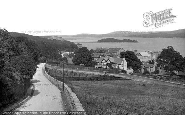 Grange Over Sands, From Grange Fell Road 1921