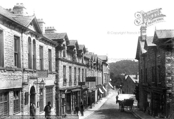 Grange-Over-Sands, Main Street 1901.  (Neg. 47049)  © Copyright The Francis Frith Collection 2008. http://www.francisfrith.com
