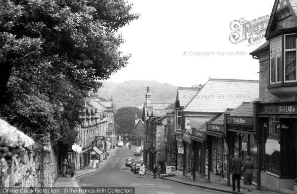 Photo of Grange-over-Sands, Main Street c1960