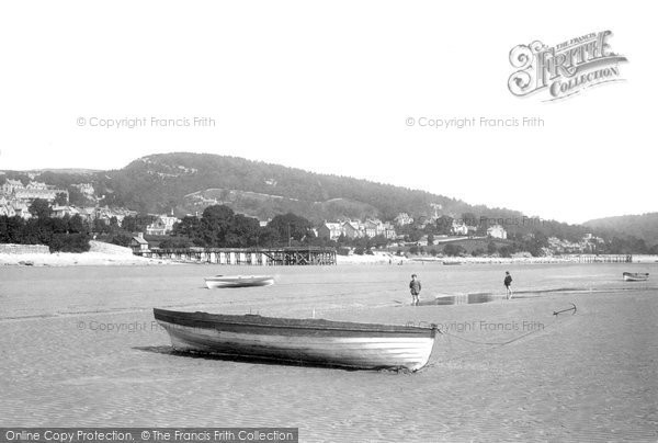 Photo of Grange Over Sands, The Beach 1896