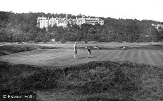 Grange-over-Sands, the Golf Links and the Grand Hotel 1927