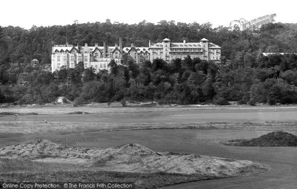 Photo of Grange Over Sands, The Grand Hotel 1927