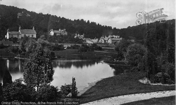 Grange-Over-Sands, the Lake c1875.  (Neg. 7902)  © Copyright The Francis Frith Collection 2008. http://www.francisfrith.com
