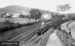 Grange-Over-Sands, The Railway 1929, Grange-Over-Sands