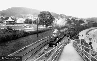 Grange-over-Sands, the Railway 1929
