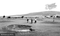 Grangetown, Golf Course And Cleveland Hills c.1960