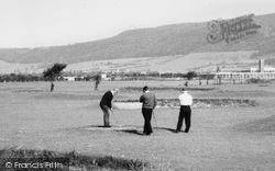 Grangetown, Golfers On The Golf Course c.1960