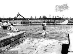 Grangetown, Paddling Pool c.1960