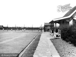Grangetown, Tennis Courts c.1955