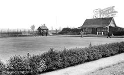 Grangetown, The Bowling Green c.1955