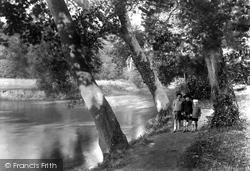 Grantchester, Byron's Pool 1931