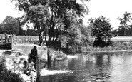 Grantchester, Byron's Pool c1946