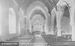 Grantchester, Church Interior 1929