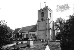 Grantchester, Church Of St Andrew And St Mary 1914