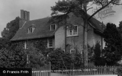 Grantchester, Rupert Brooke's House 1931