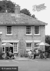 Sitting Outside At The Rose And Crown c.1965, Grantchester