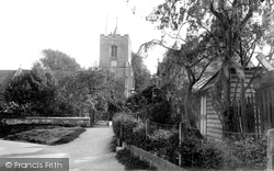 Grantchester, The Church Of St Andrew And St Mary 1929