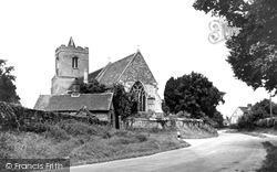 Grantchester, The Church Of St Andrew And St Mary c.1946
