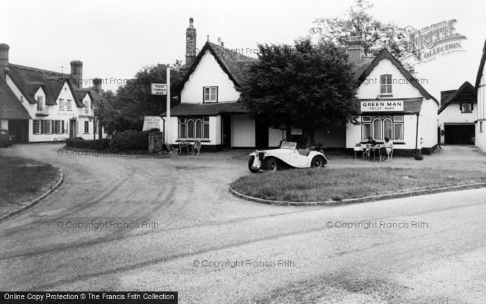 Photo of Grantchester, The Green Man c.1950
