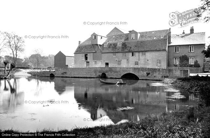 Grantchester,the Old Mill 1914,Cambridgeshire