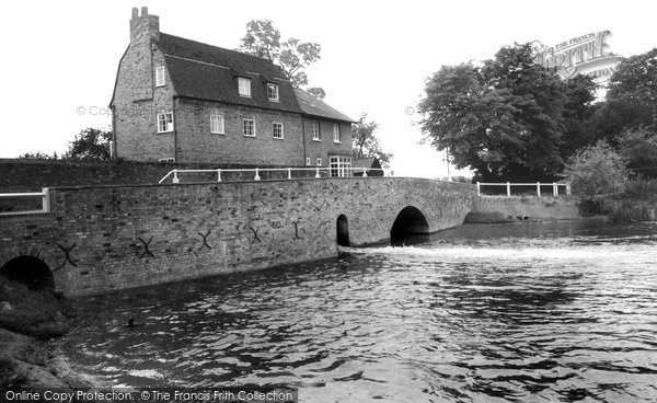 Grantchester,the Old Mill c1965,Cambridgeshire