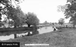 Grantchester, The River c.1965