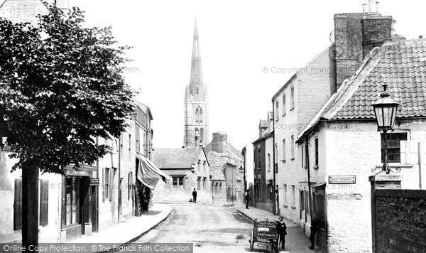 Photo of Grantham, Bee Hive Inn 1893