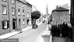 Grantham, Castlegate c.1955