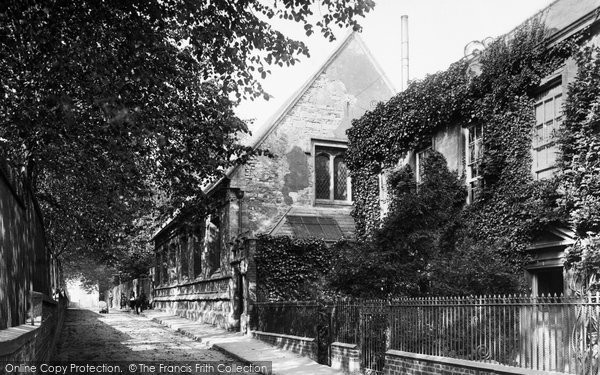 Photo of Grantham, Grammar School 1890