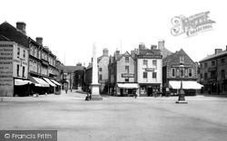 Grantham, Market Place 1893