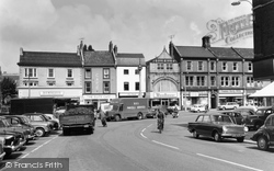 Grantham, Market Place 1965