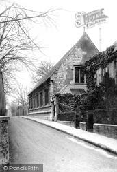 Grantham, Newton's Grammar School 1889