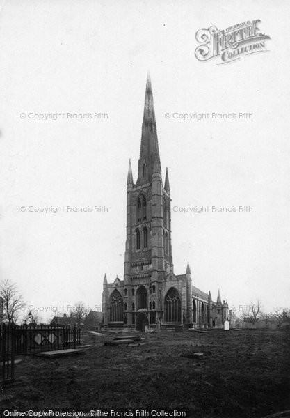 Photo of Grantham, St Wulfram's Church 1889