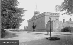Grantham, The Barracks 1893