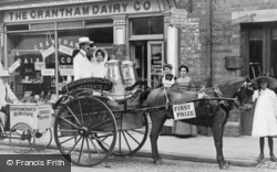 The Grantham Dairy Co c.1900, Grantham