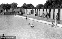 Grantham, The Swimming Pool c.1955