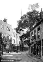Grantham, Vine Street 1890