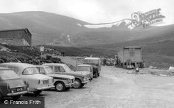 Grantown On Spey, Cairngorm Car Park And Chair Lift c.1965