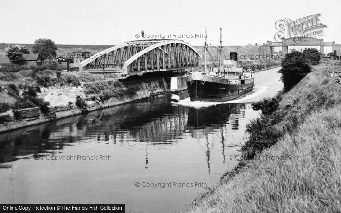 Photo of Grappenhall, Knutsford Road Bridge And High Level Bridge c.1955