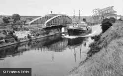 Grappenhall, Knutsford Road Bridge and High Level Bridge c1955