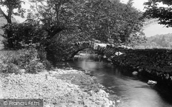 Grasmere, Bridge In Easedale 1892