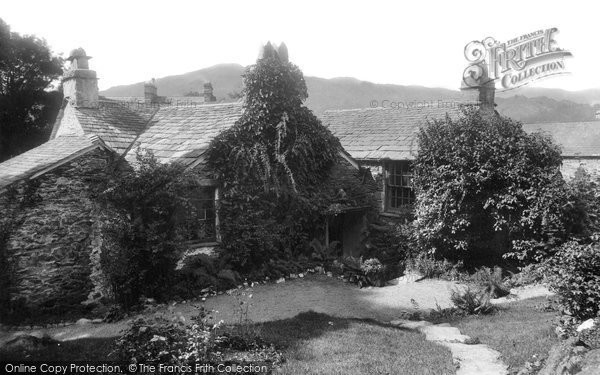 Grasmere, Dove Cottage 1892.  (Neg. 30508)  � Copyright The Francis Frith Collection 2008. http://www.francisfrith.com