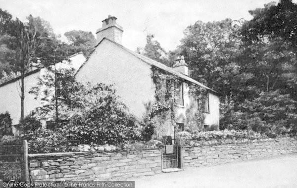 Photo of Grasmere, Dove Cottage c.1935