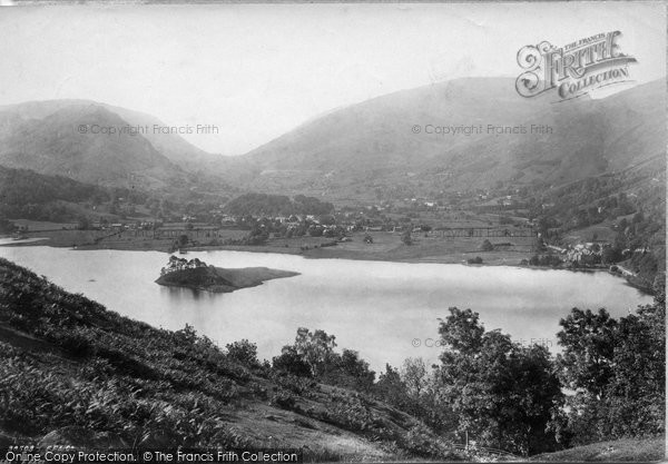 Photo of Grasmere, From Redbank 1892