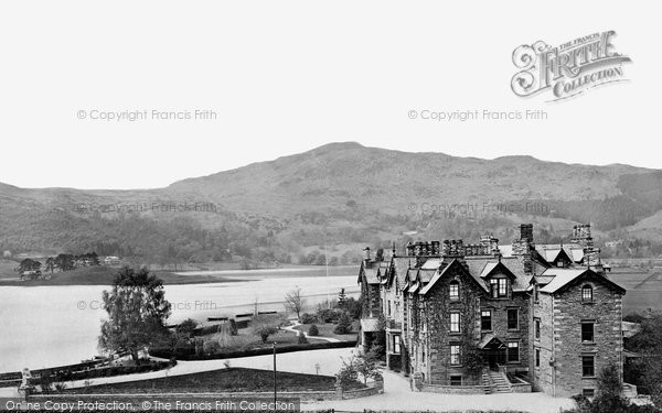 Photo of Grasmere, Lake And Prince Of Wales Hotel c.1872