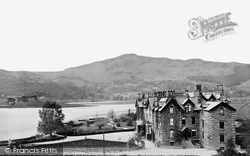 Grasmere, Lake And Prince Of Wales Hotel c.1872