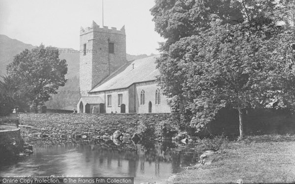 Photo of Grasmere, St Oswald's Church 1892